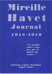 Journal 1918-1919 (couverture)