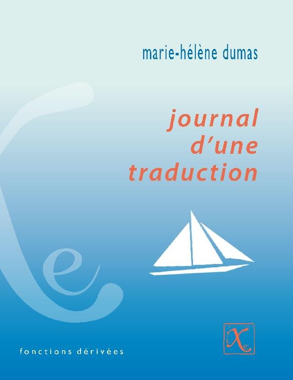 journal d u2019une traduction  de marie