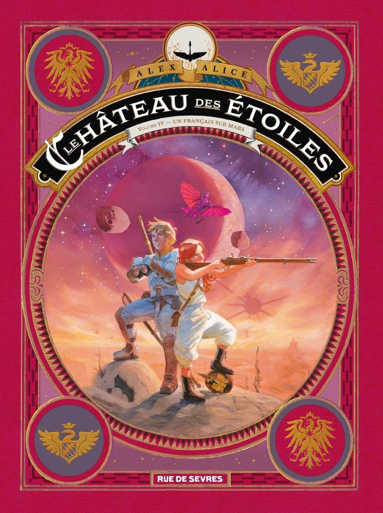 Le château des étoiles T4 (couverture)